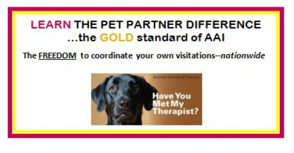 Pet Partners of Central New York – Animal-Assisted Therapy